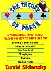Теория покера дэвид склански читать онлайн бесплатно новости нелегальные игровые автоматы 2010