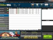 William Hill Poker lobby